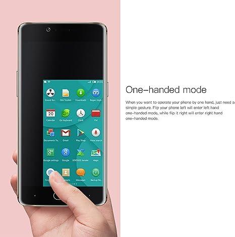 DOOGEE Shoot 1 Smartphone 4G LTE Android 6.0 Cámara 13MP + 8MP 5,5 Pulgadas 1920 x 1080 Pixel FHD Touch ID MTK6737T Quad Core 2GB RAM 16GB ROM Tarjeta TF hasta 256GB