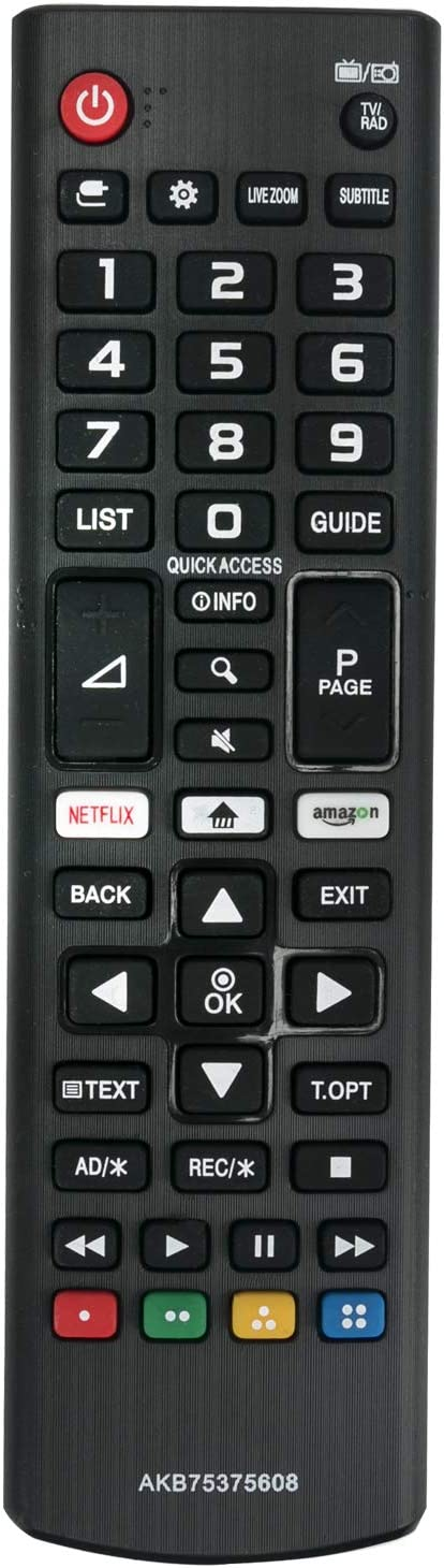 ALLIMITY AKB75375608 Mando a Distancia reemplazado por LG 4K UHD ...