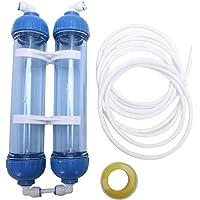 SODIAL Filtro De Agua 2 Piezas T33 Cáscara