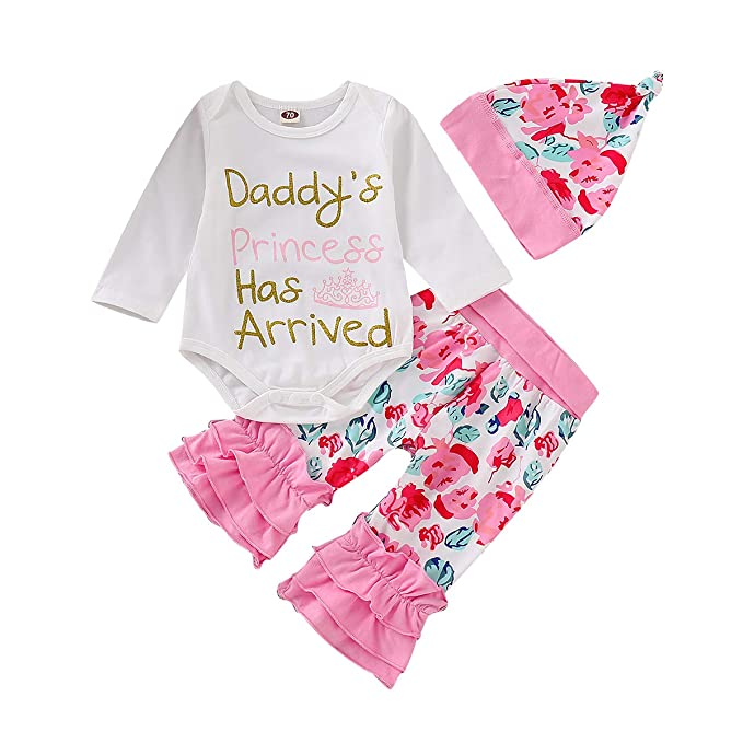 My First Valentine's Day Baby Pant Outfit Set Newborn Baby Girls Boys Cute  Bodysuit 4Pcs Clothes Set