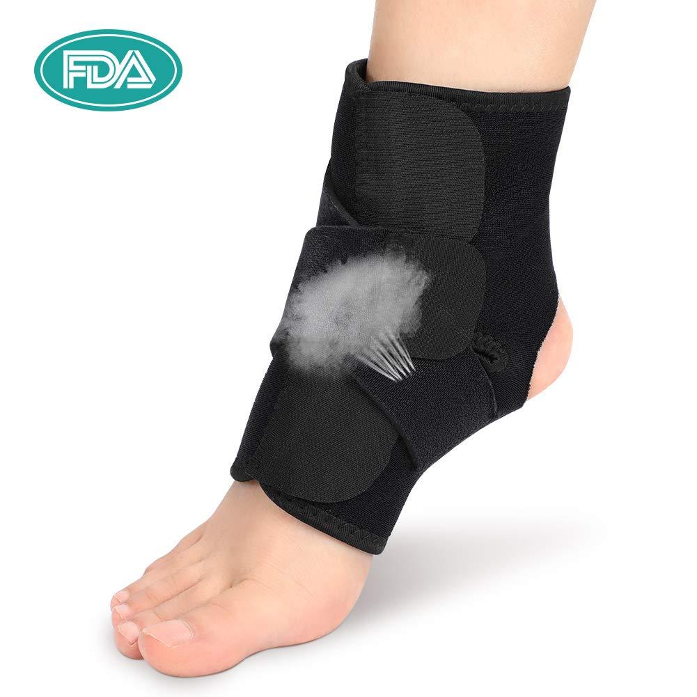 Rinforzo supporto per caviglia Stabilizzatore per uomini e donne regolabile
