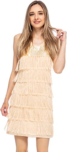 Sequin Dress Liza Black Silver Women/'s Glitter 20er 30er Years Gatsby Costume