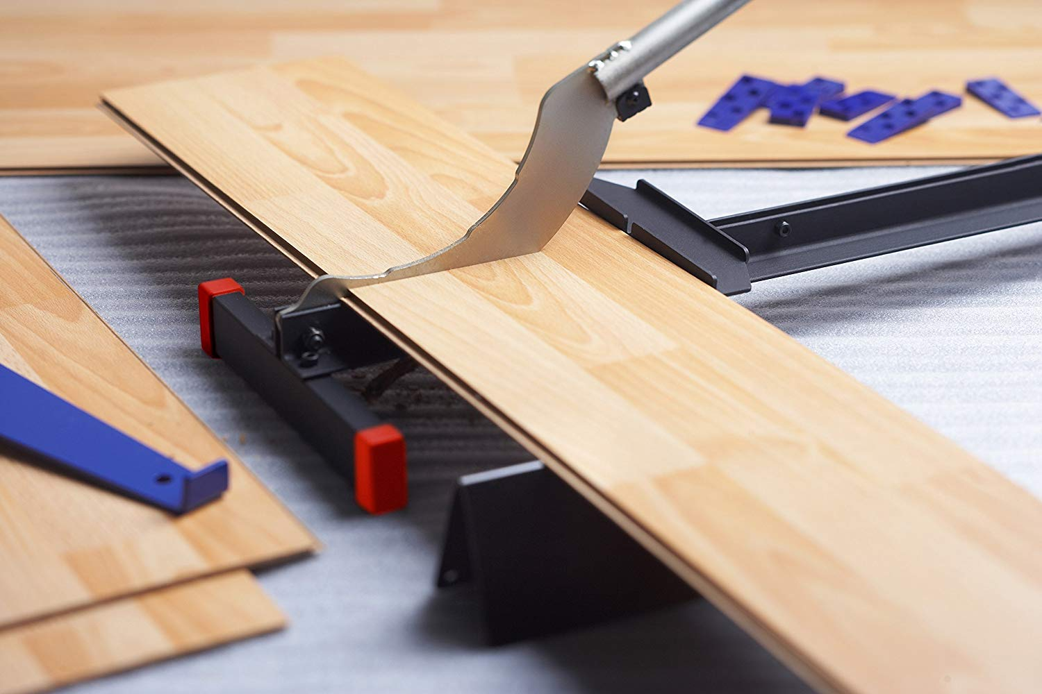 Laminate Flooring and Siding Cutter EY-210 For 8-inch & 12-inch wide floor. Best Buy! by MANTISTOL