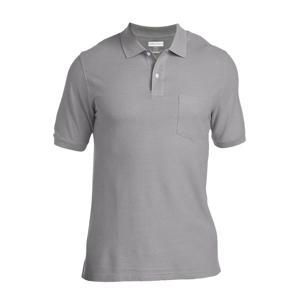 Logan And Martin Big Mens Heavyweight 100 Cotton Pique Polo Golf