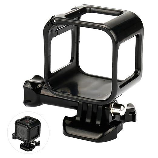 Carcasa Protectora Estándar para GoPro Hero 4 Session Sports para Manillar de Bicicleta, Color Negro
