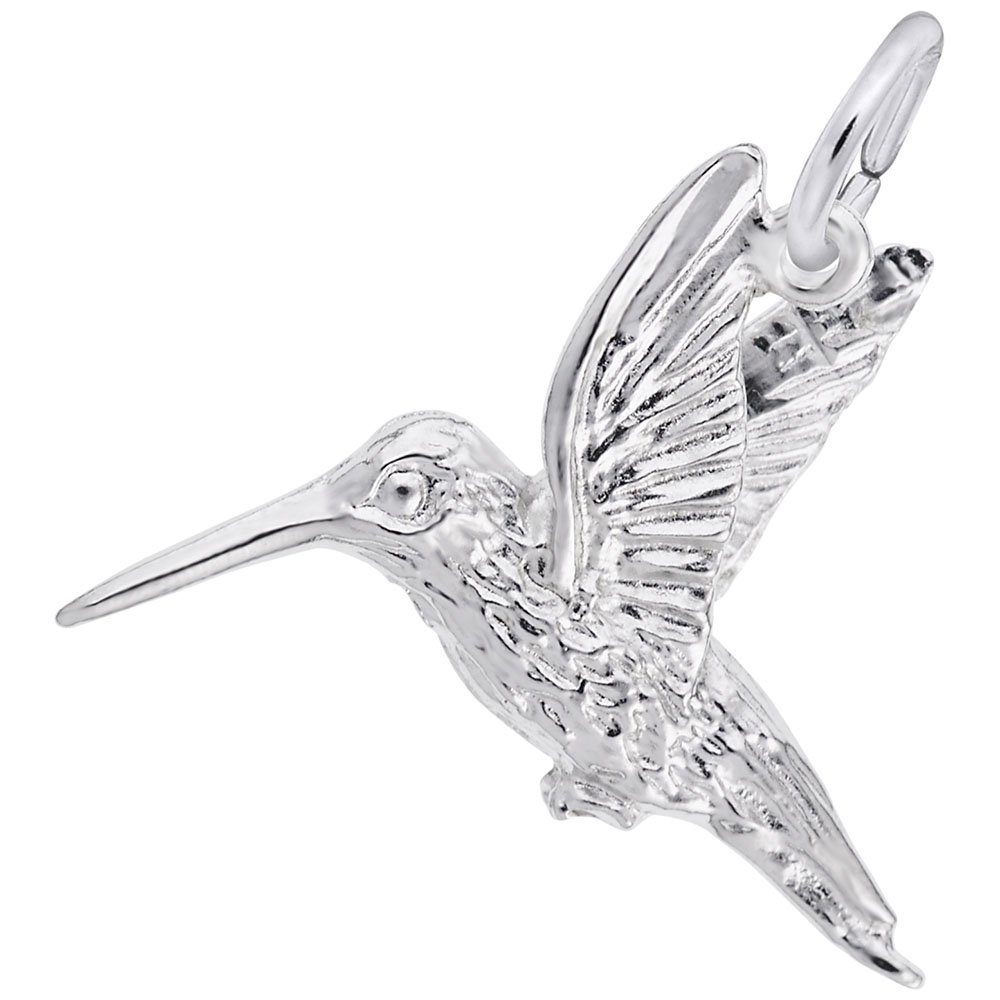 Charms for Bracelets and Necklaces Hummingbird Charm