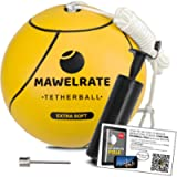MAWELRATE Tetherball Ball and Rope Set – Perfect Outdoor Game for Kids - Soft Ball - Replaceable Rope - Portable Fun for…