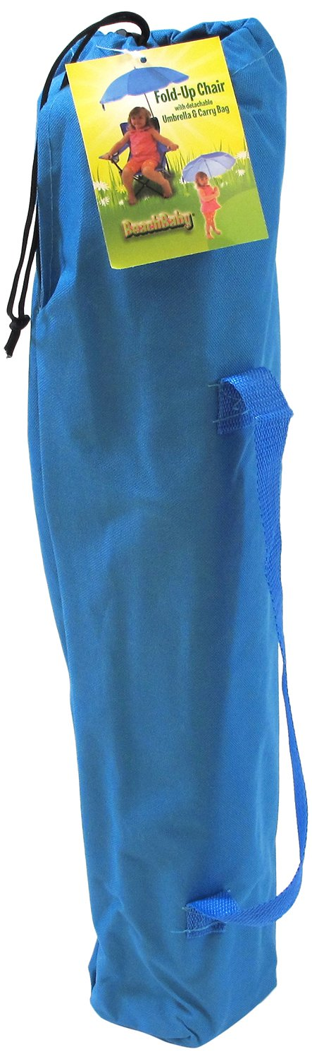 Redmon Umbrella Camping Chair with Matching Shoulder Bag, Blue by Redmon