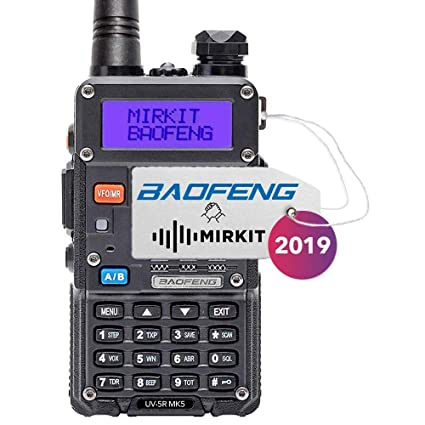 Amazon.com: Mirkit Radio Baofeng UV-5R MK3 y MK5 2019 1800 ...