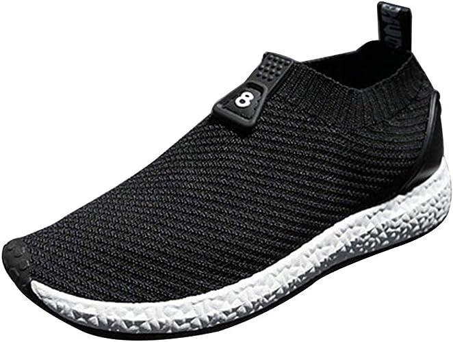 Daytwork Moda Antideslizante Zapatillas Running Malla Casual Zapatos Hombre - Gimnasio Correr Deportes Fitness Invierno Sneakers: Amazon.es: Zapatos y complementos