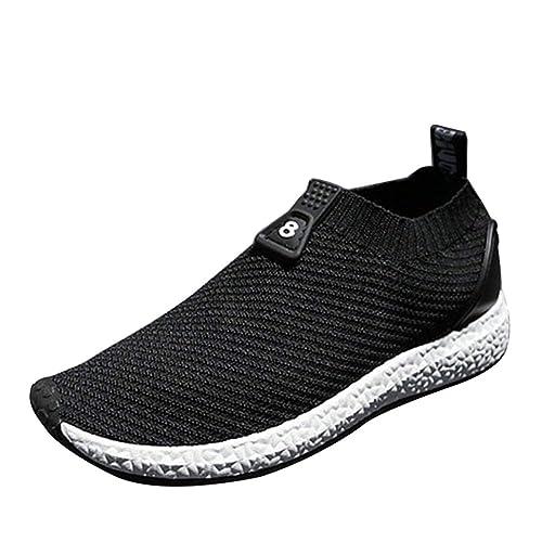 Daytwork Moda Antideslizante Zapatillas Running Malla Casual Zapatos Hombre - Gimnasio Correr Deportes Fitness Invierno Sneakers: Amazon.es: Zapatos y ...