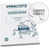 Rite in the Rain Waterproof (DURARITE) Copier Paper, A3 29.7cm x 42cm, 4.7 mil. White, 100 Sheet Pack (No. 6518)