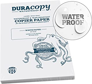 product image for Rite In The Rain Waterproof (DURARITE) Copier Paper, A3 29.7cm x 42cm, 4.7 mil. White, 100 Sheet Pack (No. 6518)
