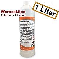 Isopropanol Isopropylalkohol 99,9% 1000 ml (1 Liter) mit Sicherheitsverschluss