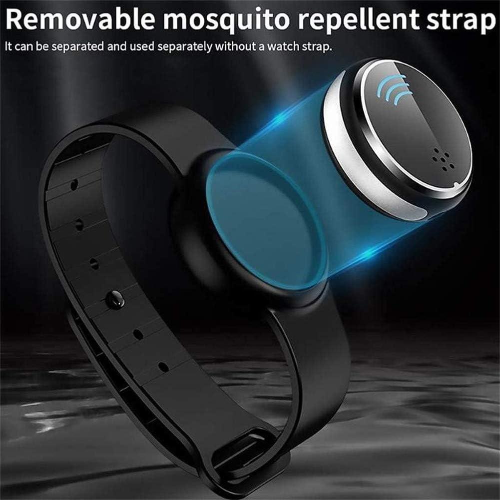 Blanketswarm Lot de 2 bracelets anti-moustiques r/églables et r/éutilisables