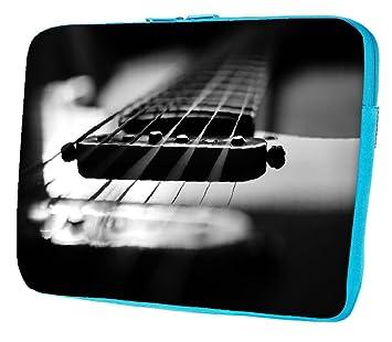 """Snoogg Primer guitarra funda 17 """"pulgadas a 17,5 pulgadas a 17,"""
