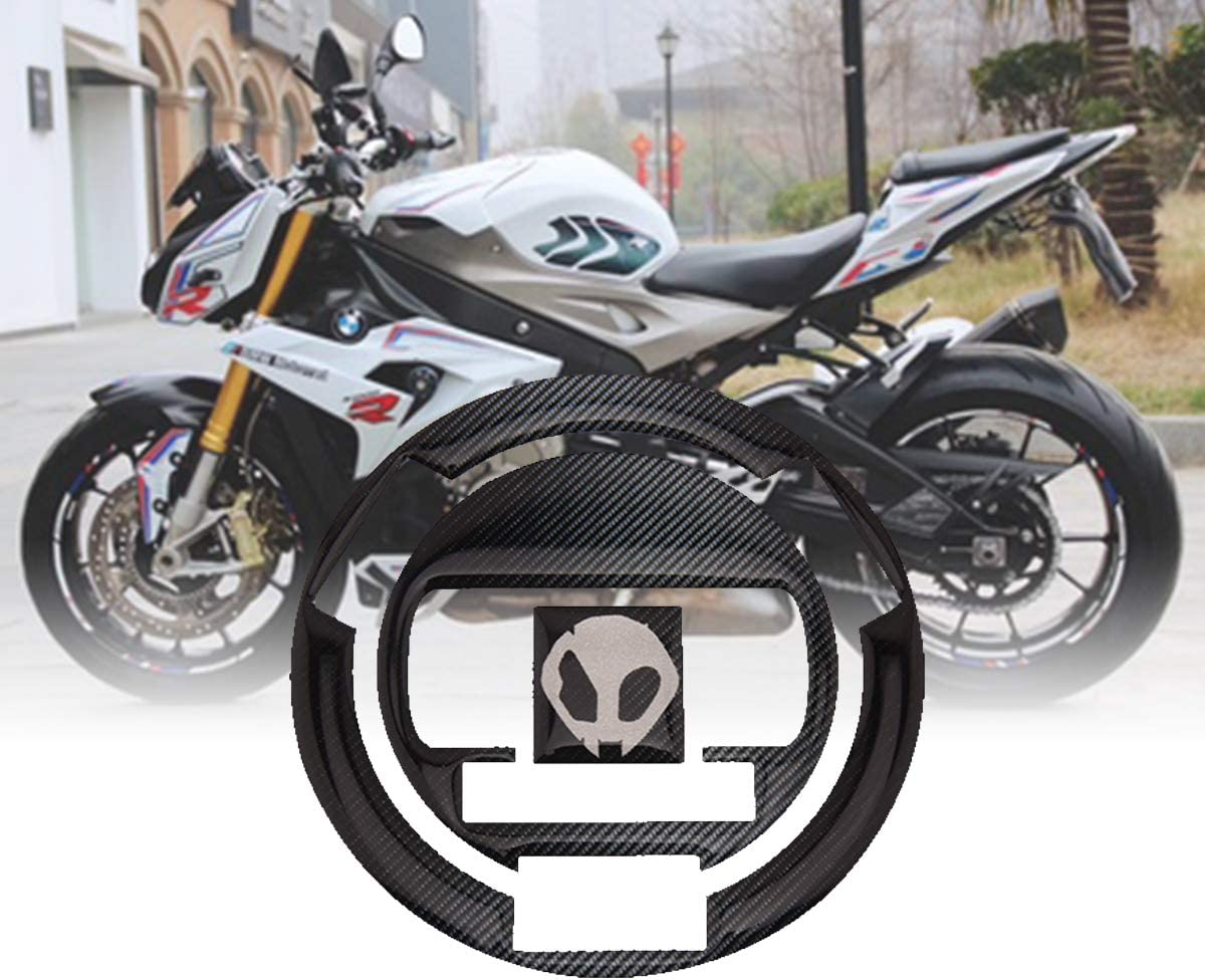 Motorcycle Tank Pad Tank Side Protector Knee Grip 3d Gel Decals Sticker for BMW S1000R