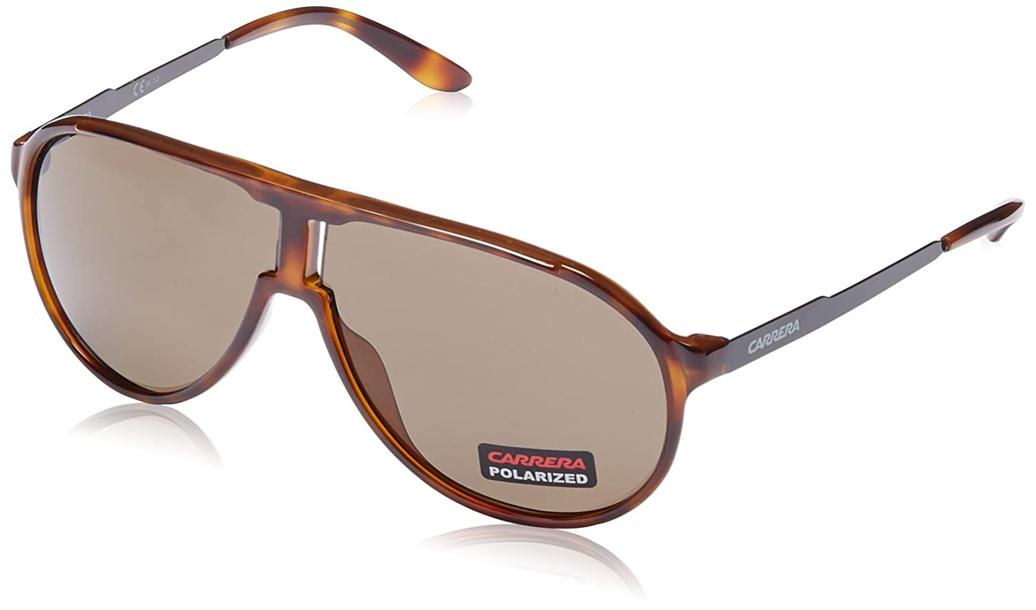 Unisex New Champion SP 8F8 Sunglasses, Dkhvn Shyblk/Bronze Pz, 62 Carrera