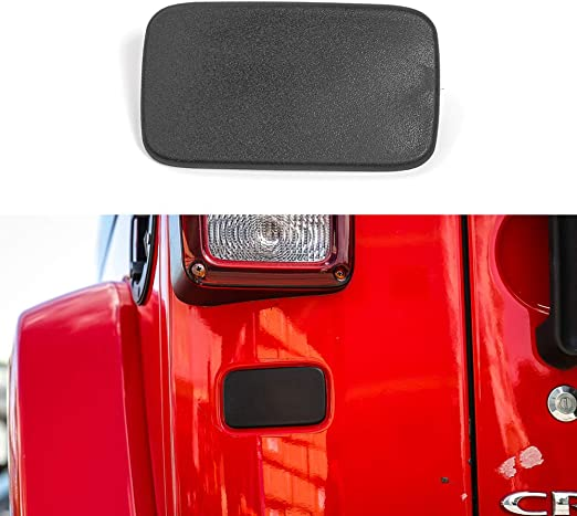 Decoration Kit-Black ABS Gas Brake Oil Line Bracket Holder for Jeep Wrangler