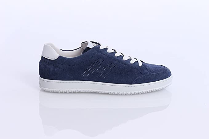 Alta qualit Sneakers Scamosciata Hogan Scamosciata Sneakers Blu vendita f59cc6