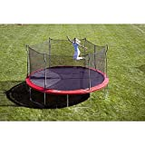 15' Enclosed Trampoline with Anchor Kit