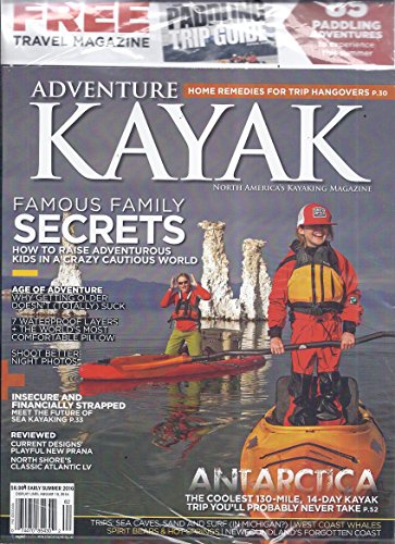 Magazine Kayak (Adventure Kayak Magazine (Early Summer 2016 - Includes Free Paddling Trip Guide))