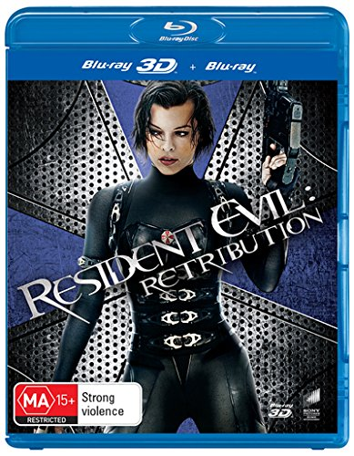 Resident Evil Retribution 3D Blu-ray