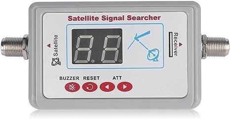 leaningtech SF9505 Mini medidor de señal de antena de TV digital Satellite Finder