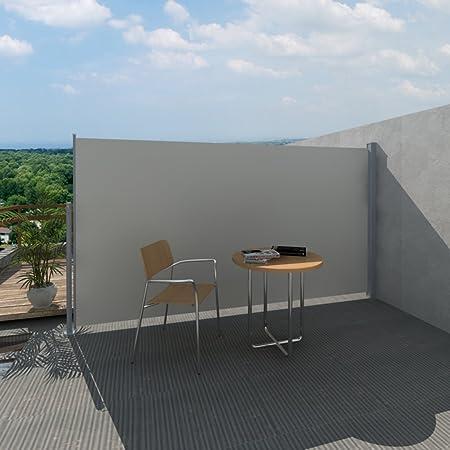 Festnight Toldo Lateral para Jardín Tejado Patio Terraza 160 x 300 cm Color Crema: Amazon.es: Hogar