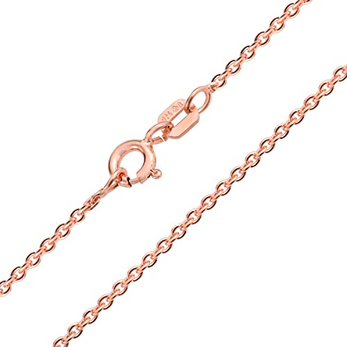 925 Sterling Silver Rolo Chain Necklace 2mm 040 Gauge