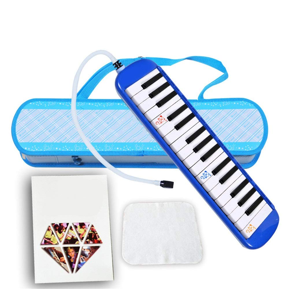 Melodica Musical Instrument Kids Melodica 32 Keys With Portable Carrying Case Mouthpieces Tube Sets Kids Musical Instrument Gift Toys For Music Lovers Beginners Air Piano Keyboard for Music Lovers Beg by Shirleyle-MU (Image #3)
