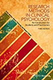 img - for Research Methods in Clinical Psychology: An Introduction for Students and Practitioners book / textbook / text book