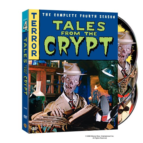 DVD : Tales From the Crypt: The Complete Fourth Season (Slipsleeve Packaging, , Dolby, Standard Screen, 3 Disc)