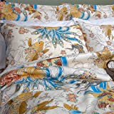 Geisha Garden Colorful Asian Tattoo Comforter, Full/Queen Size