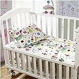 Mellanni Toddler Sheet Set Animal-Print - 4 Piece - Fits Baby Crib Too - Super Soft HIGHEST QUALITY Kids Bedding (Toddler, Animal Print)