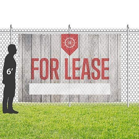Clearance Nostalgia Burst Wind-Resistant Outdoor Mesh Vinyl Banner 6x4 CGSignLab