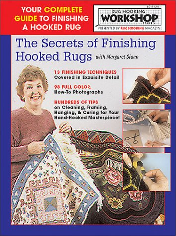 Download Secrets of Finishing Hooked Rugs pdf epub