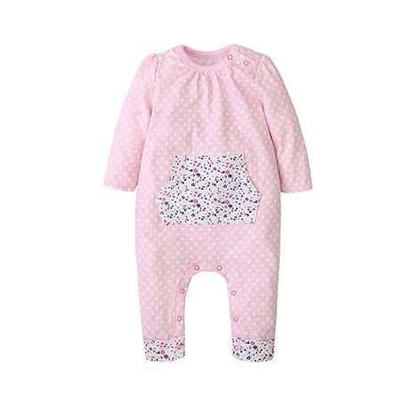 Bebé Mameluco Body - Infantil Pijamas Bebé Peleles Algodón Monos Mangas Largas Niñas Trajes