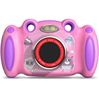 """Campark Kids Cameras for Girls Boys Birthday Gift for Age 4-8 Dual Selfie, 2"""" Screen Record Video Photo Play Games, Shockproof Children Digital Camera for Toddler Elementary Students"""