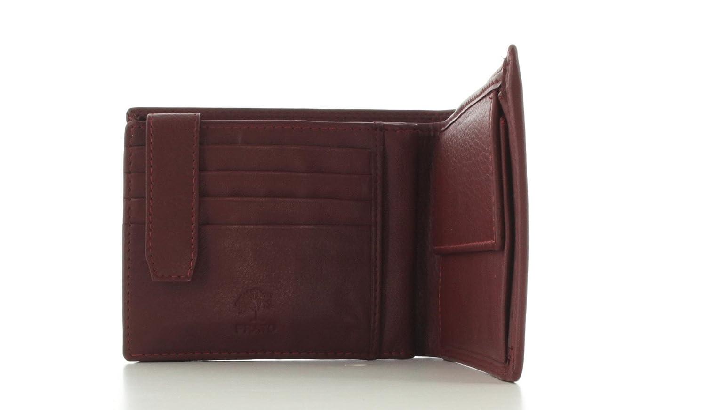 2c9397dfe5c88 Prato Geldbörse Brieftasche Portemonnaie Geldbeutel Scheintasche Kombibörse  Leder  Amazon.de  Koffer