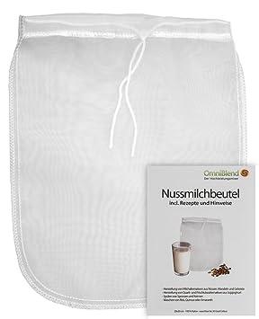 Bolsa de leche/colador de tela para la leche estás estresado alternativas y muchas otras