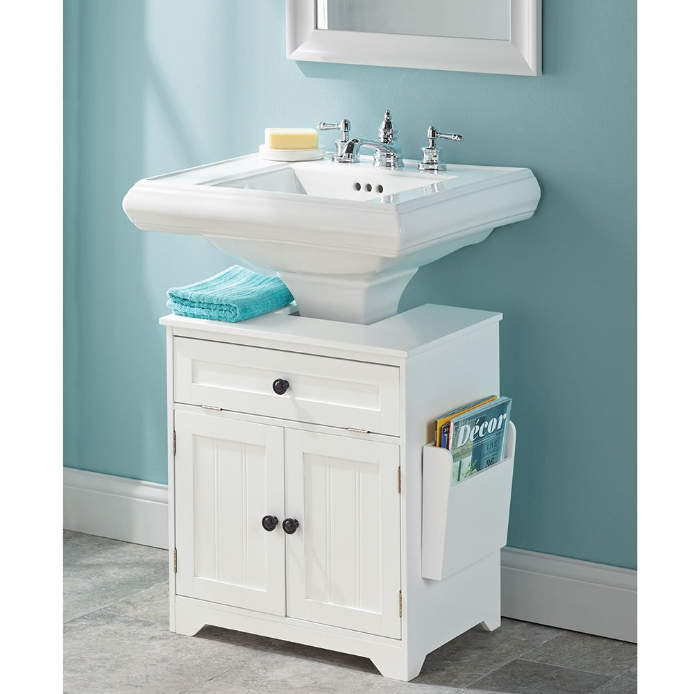 Amazon.com: The Pedestal Sink Storage Cabinet: Kitchen & Dining