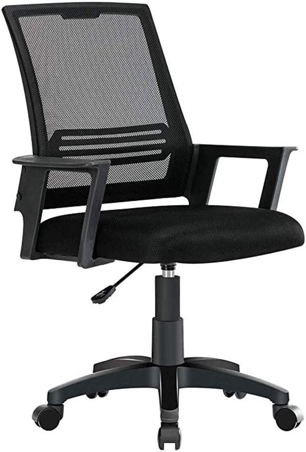 Amazon Com Barstoolri Swivel Chair Ergonomic Mesh Office Chair Swivel Computer Chair With Design Arm Decoration For Office And Home Furniture Decor