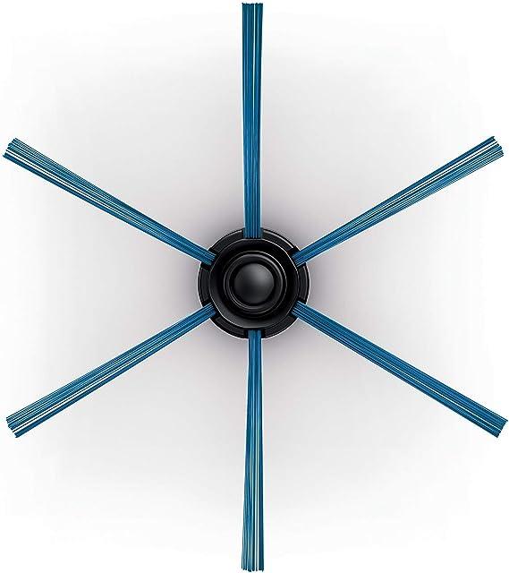 ROBOMARKET/® KIT RICAMBI PER PHILIPS SMARTPRO EASY ACTIVE COMPACT FC8810 FC8820 FC8700 FC8710 FC8774 FC8776 2 SPAZZOLE LATERALI