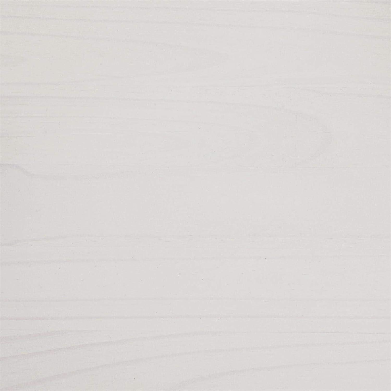 en pin Massif lasur/é Blanc et Brun IDIMEX Console Campo Table dappoint en Bois Style Mexicain avec 2 tiroirs
