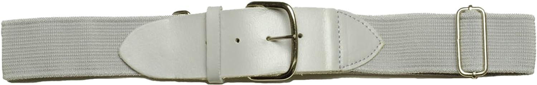 大人用野球ベルト調節可能な牛革レザータブグレー新しい B00JYJGG3I