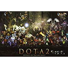 Run Fashion Hot Game Dota 2 Art Silk Scroll Poster Room Decor Picture Hot Janpan Defence Of The Ancients All Heroes 16