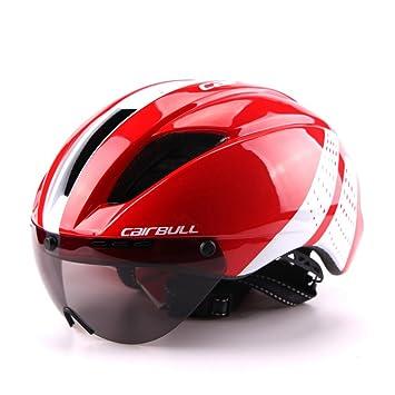 Cairbull MTB Ciclismo Casco Bicicleta Montaña para Adulto Hombre,con Visera: Amazon.es: Deportes y aire libre