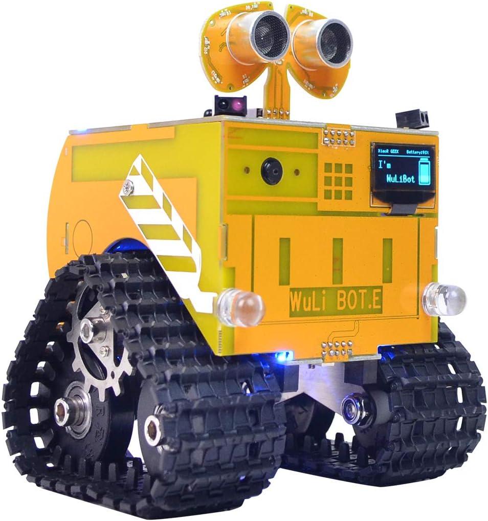 Bricolaje Robot Kit de Educación Robot de Scratch + Mixly programable del robot RC programación educativa de vapor Car Track regalo de los juguetes para los niños