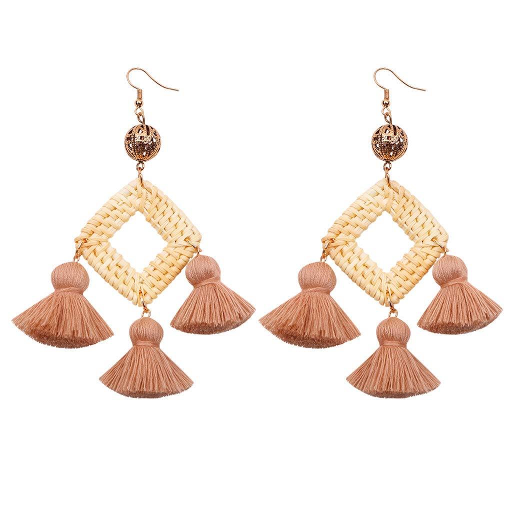 Señora arete oro rosa retro pendientes pendiente aretes joyas nuevo